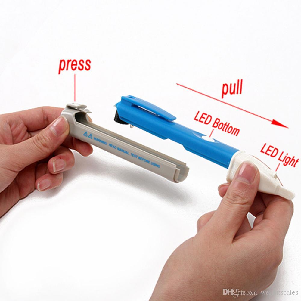 O verificador da tensão da CA 90-1000V do Não-contato 1AC-D mede o detetor Handheld da tensão elétrica da pena