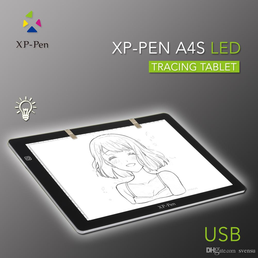 2018 Xp Pen A4s 18 Led Tracing Light Pad Light Box/ Light Pad ... for Drawing Table With Light  588gtk