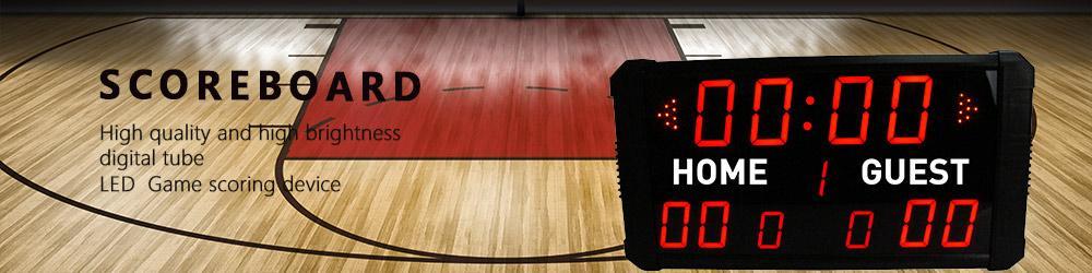 [GANXIN] GI11T- 3 + 2.3 R led Basketbol / Futbol Skorbord Çok Spor Kapalı Kablosuz Uzaktan İşlevli Ultra morden Elektronik Ekran