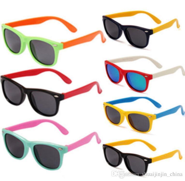 2db1b08d00 Compre Elegante Bebé Niño Niños Niños Niñas Marco Gafas De Sol Al Aire  Libre Gafas Polarizadas Niños Gafas De Sol Gafas Polarizadas KKA3338 A  $2.98 Del ...