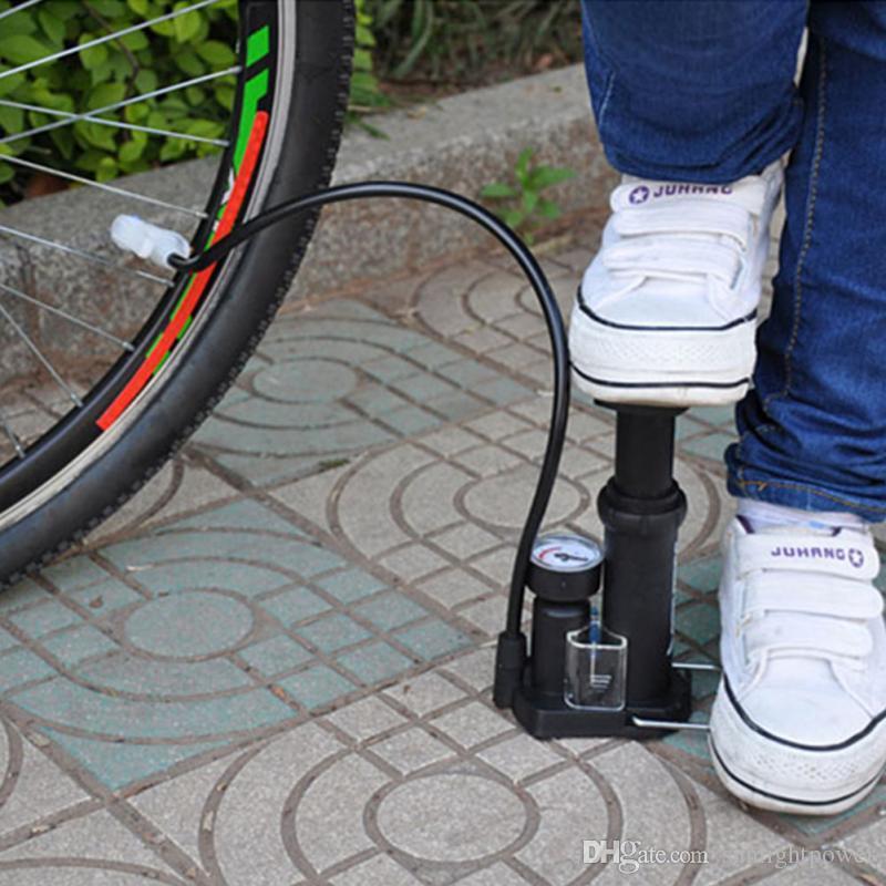 Nouvelle pompe à vélo à haute pression Pédale Pompes à vélo Straddling Inflator Vélo de montagne Mini Portable Vente Accessoires de vélo