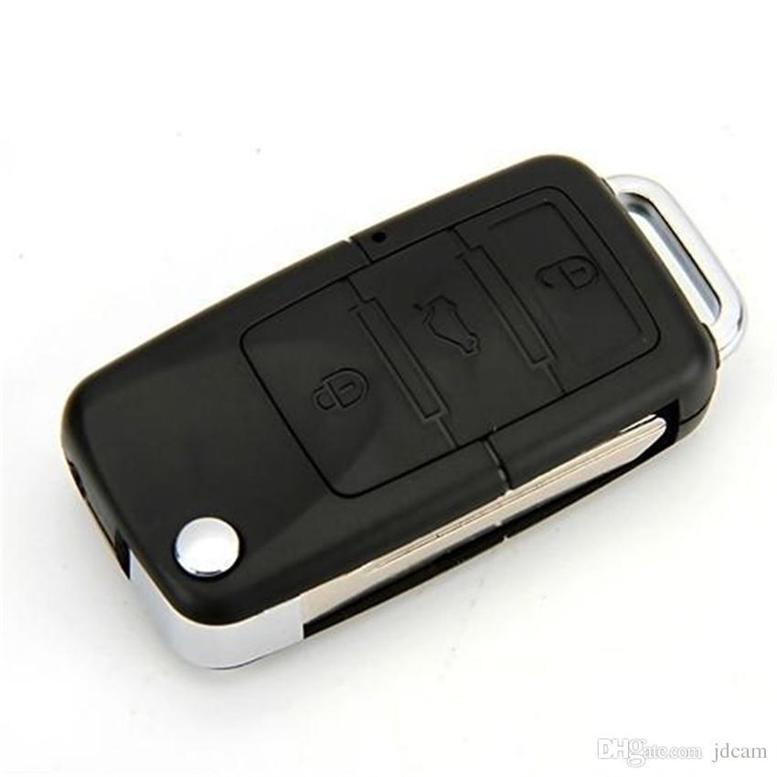 HD 720P Car KeyChain Camera Mini Car Key Cameras Micro DV DVR Mini Video Recorder Portable Camcorders