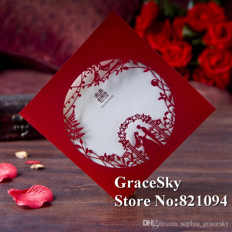 laser cut romatic bride groom wedding business anniversary party