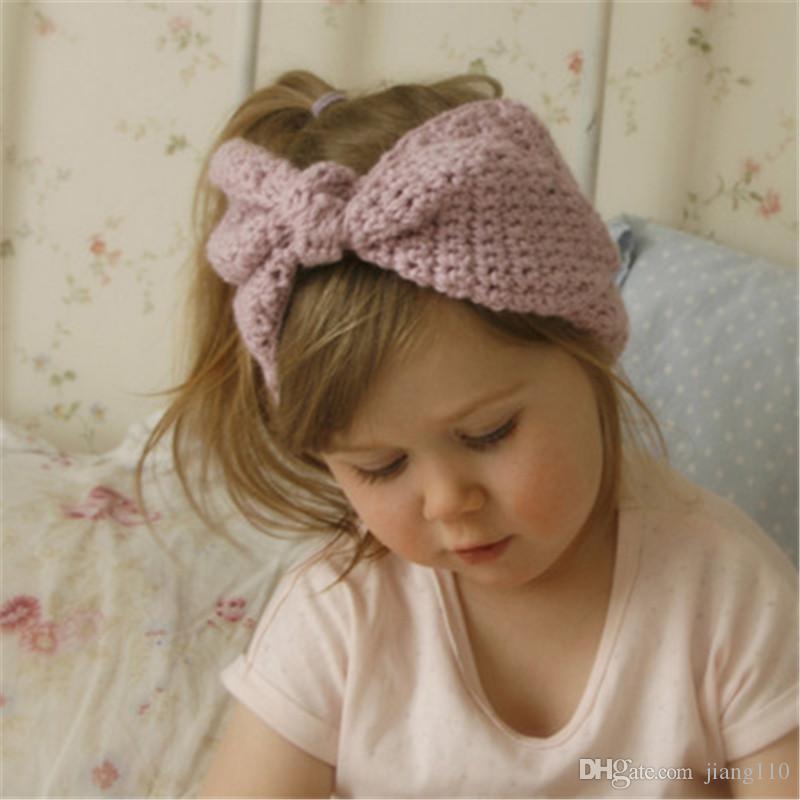 10Pcs coloré nouveau-né bébé garçons filles Fleur Bandeau Fashion Head Wrap