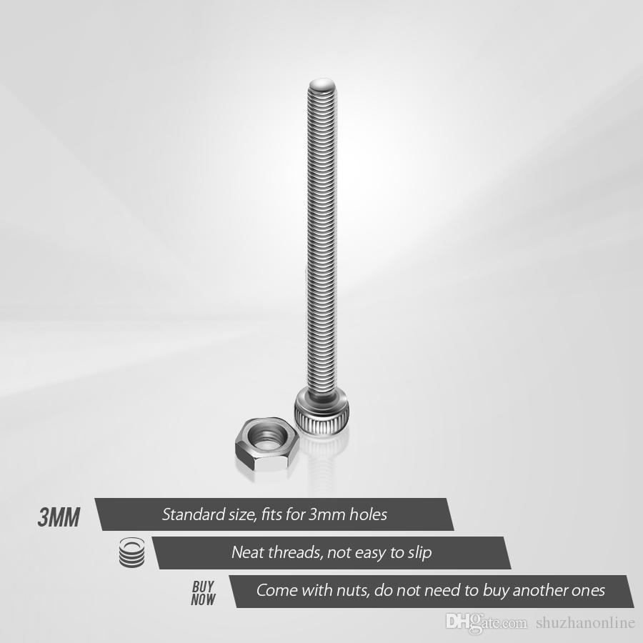 Tornillo de cabeza hexagonal de acero inoxidable M3 Allen Bolt Kit de surtido