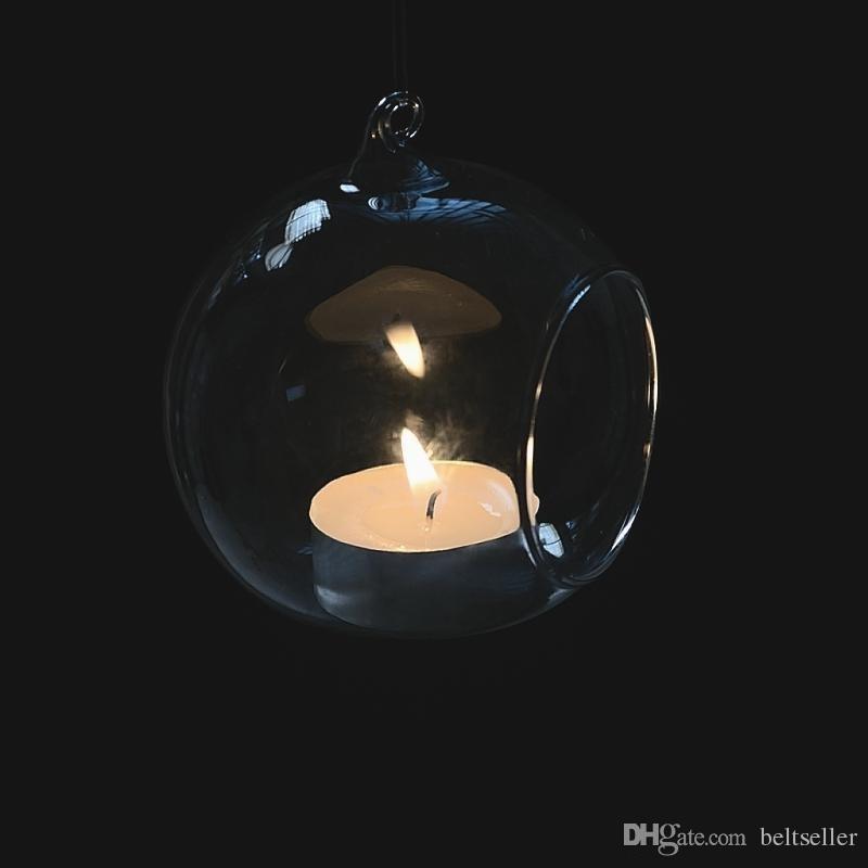 8 10 15cm واضح المعلقة العرض زهرية الزجاج عصاري مصنع الهواء تيراريوم شمعة الخصم الاقمشه بيركلي حامل بذر الاواني لديكور زفاف الرئيسية