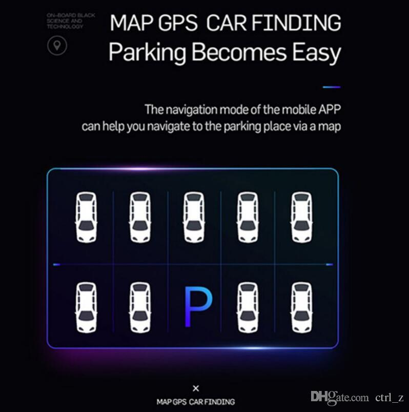 Locate E5 Car Universal Dual Port USB Charger Adapter For Cellphone GPS parking Lighter Socket Car Accessory LED Digital Display