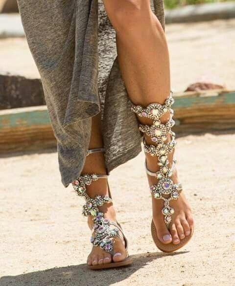 Handmade Factory Price Rhinestone Lady Knee High Boots