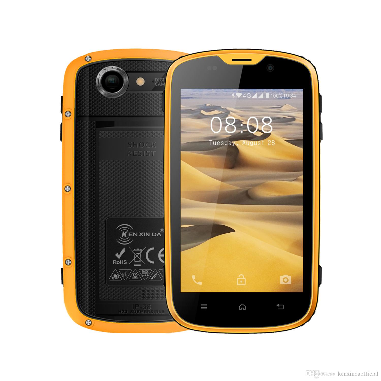 Bestes Smartphone Kenxinda W5 Wasserdicht Ip68 Smartphone 8 Gb Rom 1 Gb Ram 2800mah Quad Core Android 5 1 Mtk6735 Dual Sim Handy Beste Smartphones Von