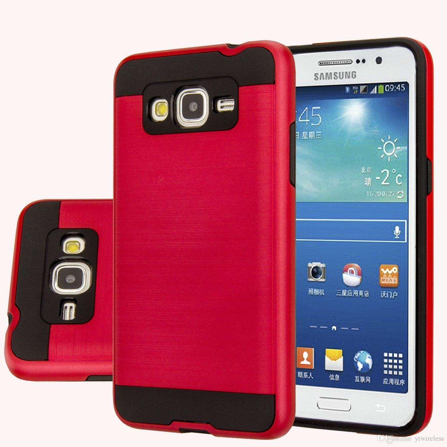 low priced 3645e 94af2 Hot Sell Hybrid Lars Mars Polish Dual Layer Armor Phone Case Cover for  Samsung Galaxy J2 2016 Samsung Galaxy On5 with Retail Package
