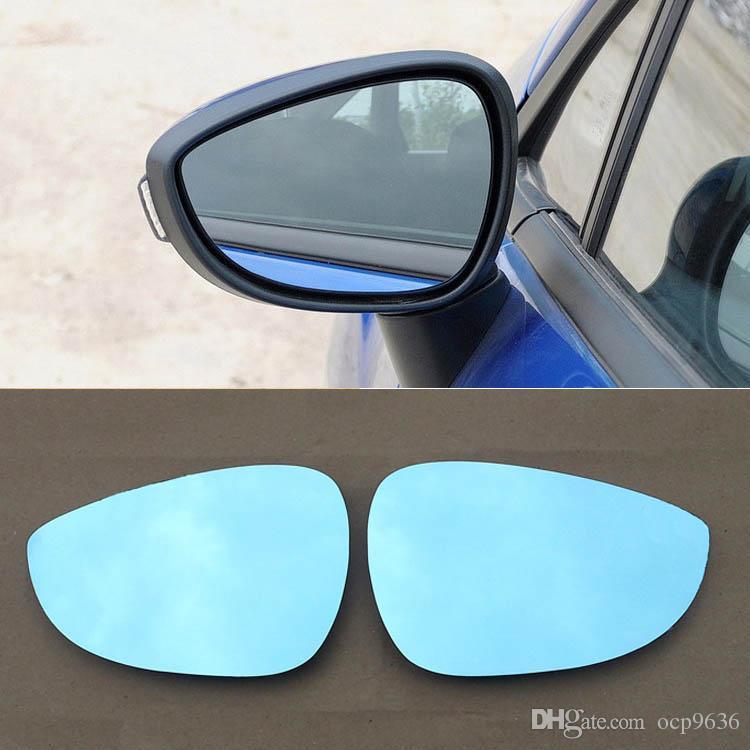 Для Ford Fiesta зеркало заднего вида автомобиля широкоугольный гипербола синий зеркало стрелка LED поворотный сигнал огни бесплатная доставка
