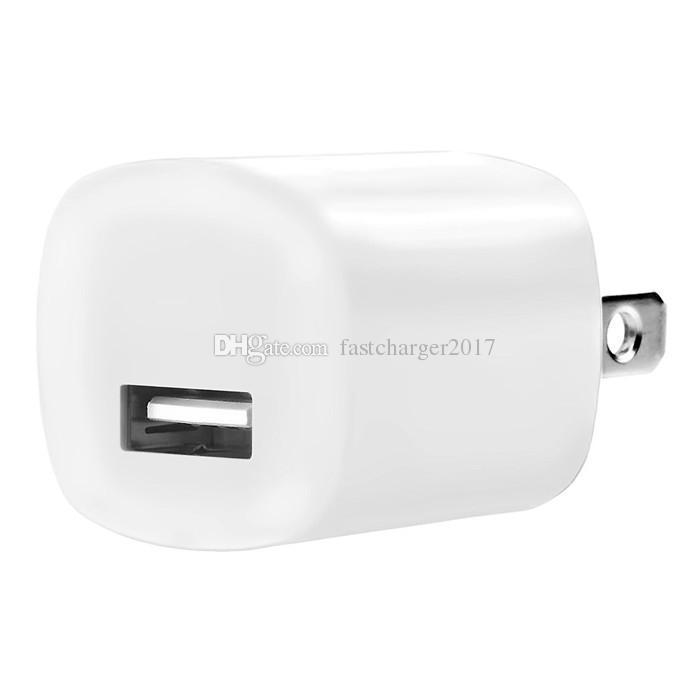 شواحن الهاتف 2.1a منافذ USB المزدوجة الولايات المتحدة EU AC الصفحة الرئيسية الجدار شاحن محول سدادة لسامسونج S6 S7 حافة