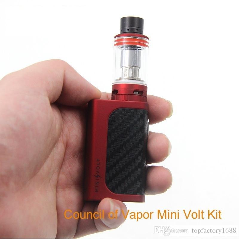 Newest Low Price 100 Original Mini Volt Box Mod 40w In Black By The