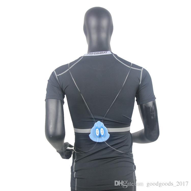 LED Corrida Colete Cinto de Alta Visibilidade Com Cinto Reflexivo para Segurança Correr e Ciclismo 4 Cores MK61