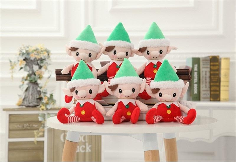 discount christmas santa elf plush toys best christmas gifts for children christmas party decorations elves toys b960 from china dhgatecom