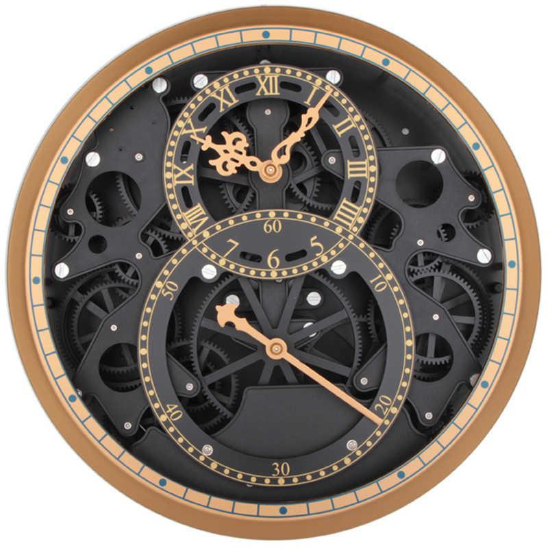 Kt Special Machinery Gear Wall Clock Quartz Minimalist Look Sporty