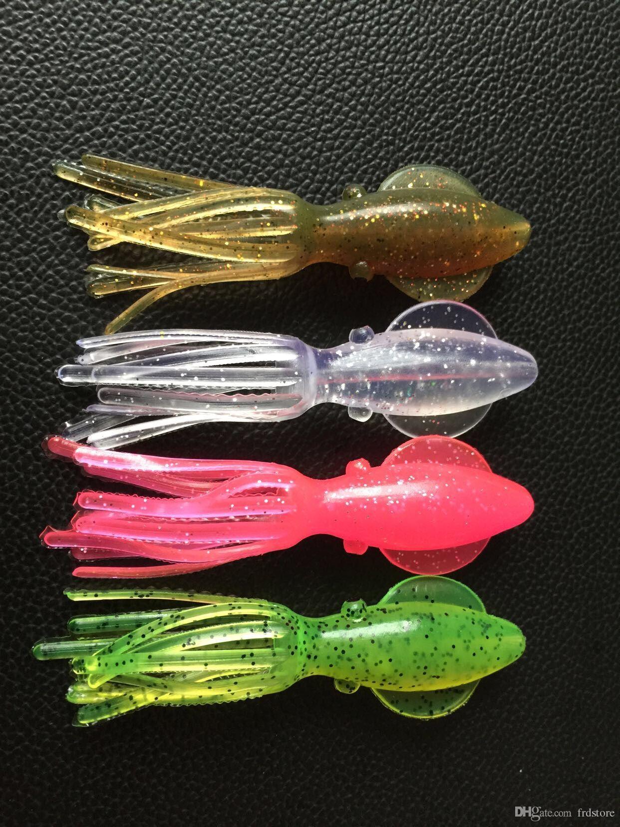 ton balığı pisi balığı levrek morina somon 6.5 cm 3.2g balıkçılık kalamar cazibesi yumuşak yem kanca yok