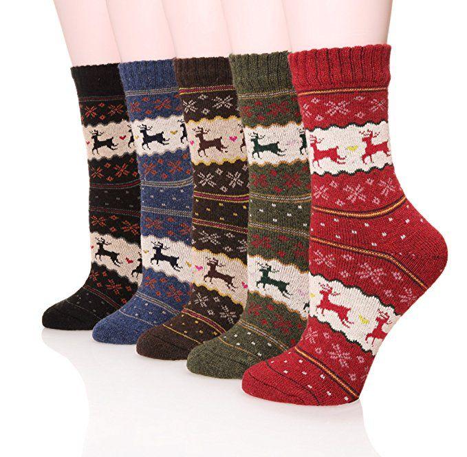 best women socks christmas deer cartoon design casual knit wool socks men winter warm shorts ankle socks meias calcetines under 112 dhgatecom - Christmas Socks For Men