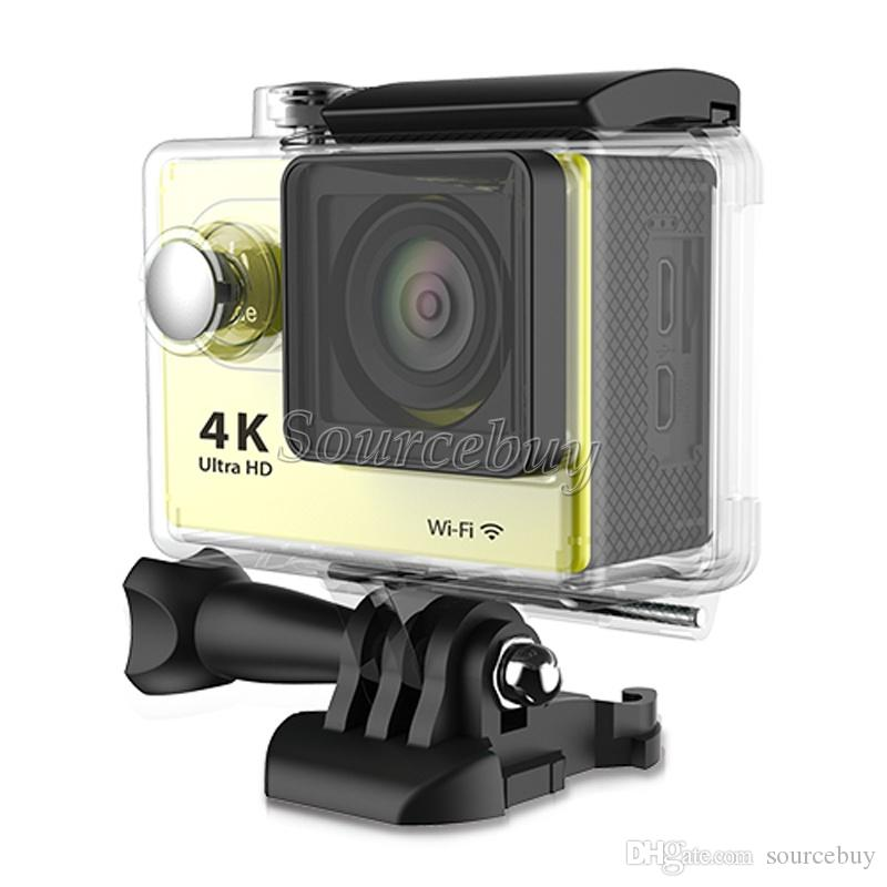 "Ultra HD 4K Sports camera WiFi HDMI 1080P 60fps Cheap H9 EKEN H9se Action camera 2"" Cam waterproof Mini DV DVR"