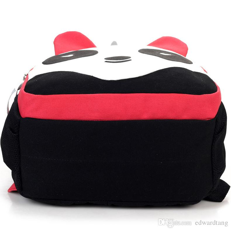 Fashion Panda Students' Backpacks,Chinese Style Bag, Cute Preppy Style Satchel,Creative Halloween Schoolbag,kid' Christmas Gifts, Collecting