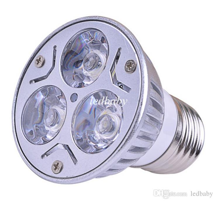 GU10 GU5.3 E27 E26 MR16 3W Dimmable LED Sport light led bulb warm cold white 80W DC12V AC 110V 220V 240V