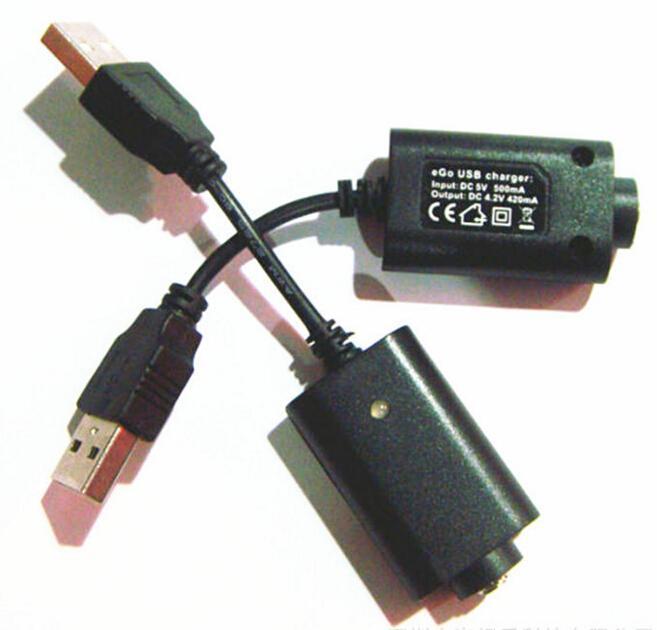2016 EGO USB Battery Charger 5V for EGO T EVOD TWIST Vision Spinner Vapor Mods ECIG EGO Charger DHL