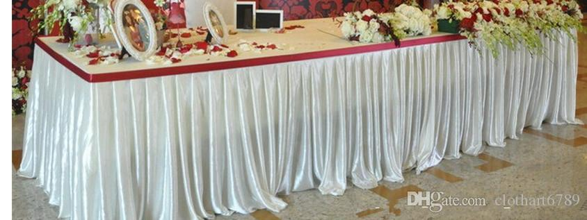 0.8M high table apron table Shielding ice silk cloth baffle other size can be make