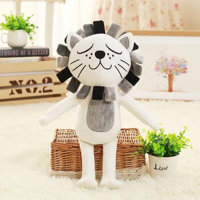 2019 2016 New 40cm Kawaii Lion Cat Plush Toys Stuffed Animals
