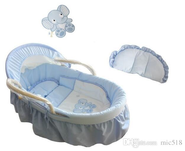 new year spring 0 12month portable baby baby bed newborn cradle 100cotton travel bed baby cribs 4 in ed baby cribs from