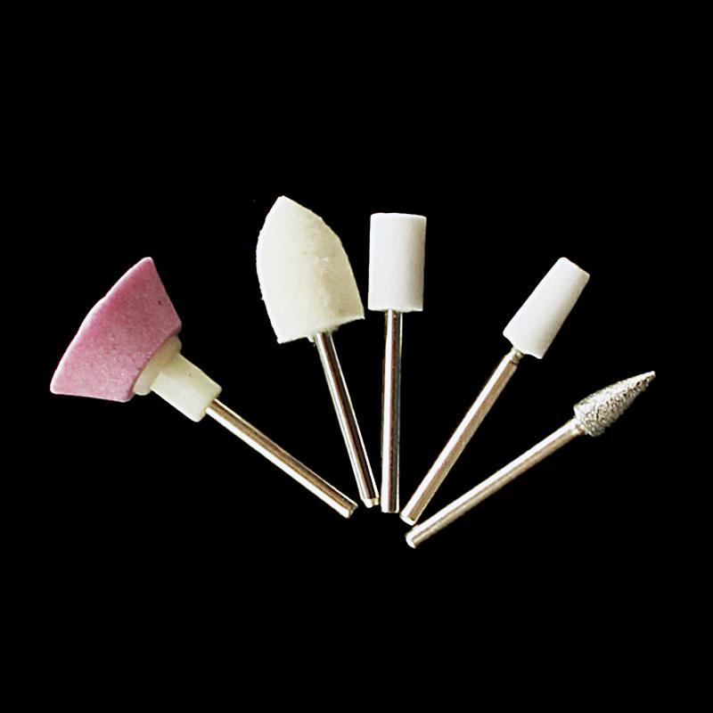5 en 1 Nail Art Outil Multifonctionnel Ongles Ensembles Beauté Manucure Pédicure Ensemble Polonais Manucure Drill Fichier Machine Tool Kit Ensembles 603015