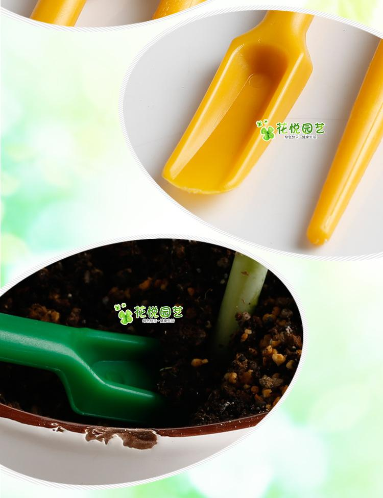 Cute plastic Punch Fork tool fairy garden miniatures mini gnomes moss terrariums resin crafts figurines for garden decoration