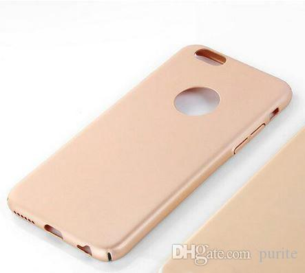 Case Frosted Contracted type Silicone Plastic Phone Case for iPhone 6 6s