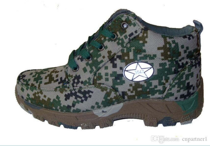 new field Non-slip warm cotton shoes Male 3547 off-road mountain camouflage cotton shoes Canvas with thick cotton shoes