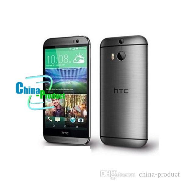 5 inch HTC One M8 Phone Quad core 2G/32G Refurbished Phones dual Cameras WCDMA original phone