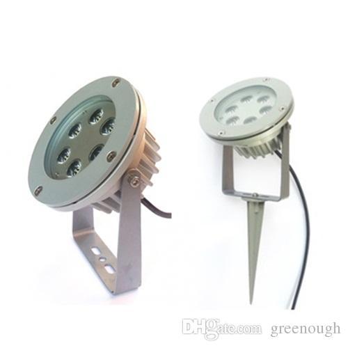 AC / DC12V LED Garten Spike Licht 6W Projektor Landschaft Rasen Strahler LED Außen Flutlicht Led Bodenlicht 60 °