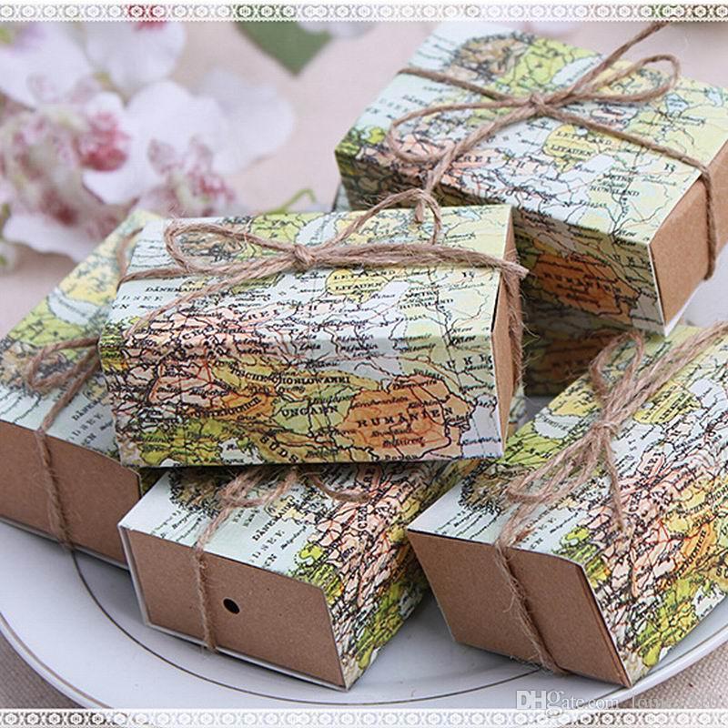 boîte de faveur douce de mariage