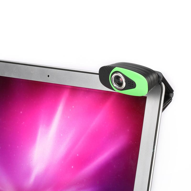 A871 360 Degree USB 12 Megapixel HD Web Camera with Microphone to the Computer Webcam for Desktop Laptop Notebook