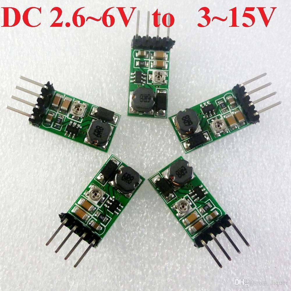 Dc Boost Adjustable Converter 3v 33v 37v 45v To 5v 6v 9v 12v 3pcs Delay Timer Relay Module Turn On Off 15v Power Supply For Wifi Bluetooth Plc 26 3 Output