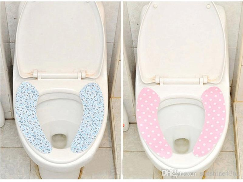 pad Toilet Seat Covers repeatedly washed the toilet seat cushion Size: 37 * 9.5 cm Single-piece Set