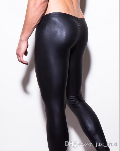 2016 High Quality Men sexy lingerie Loungewear See pouch Bulge Lounge Pants Sexy Male Pajamas Sleep Bottoms sleepwear Men's Underwear