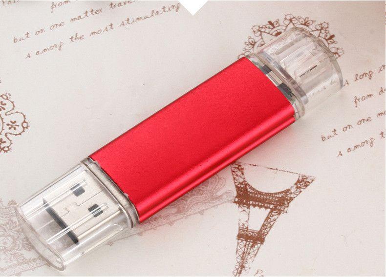Hot sale OTG Pen Drive External Storage USB Flash Drive Memory Stick 32gb 64gb Pendrive USB 2.0 U Disk