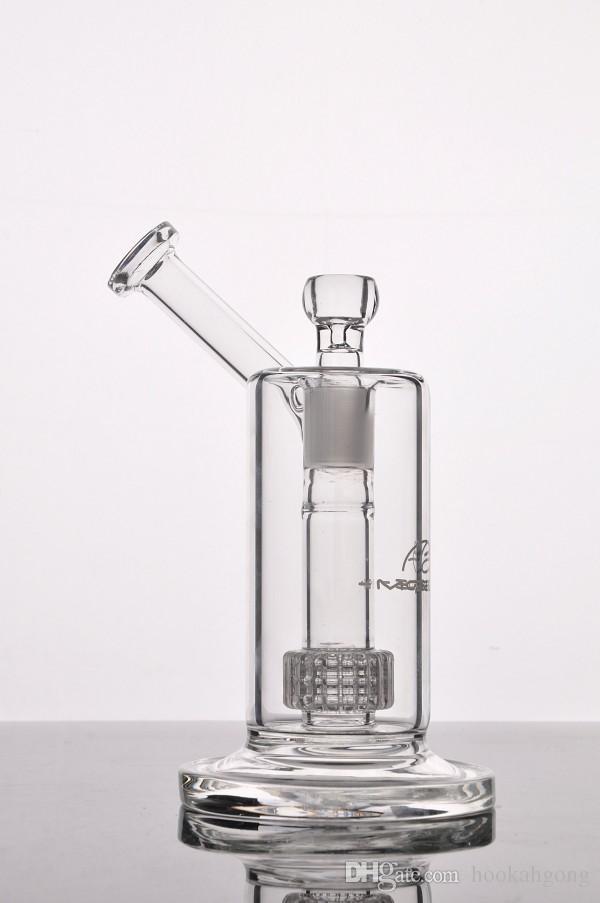 Mobius Matrice Percolateur Bong en verre Tubes d'eau en verre Bubbler tamponnant Rigs fumeurs narguilé Livraison gratuite