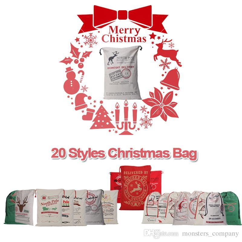 Großhandel Beliebte 20 Arten Weihnachten Große Leinwand ...