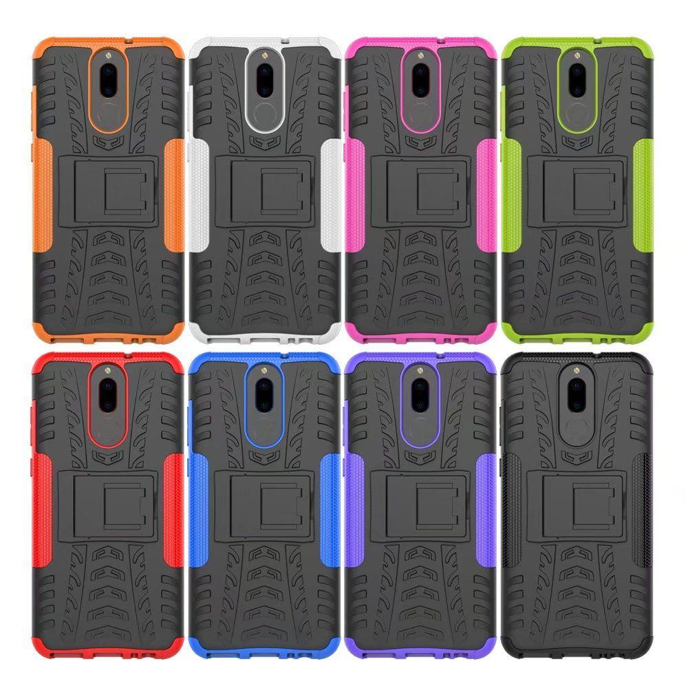 For Huawei Mate 10 Lite Case Hybrid Armor Hard Rugged Rubber Back ...