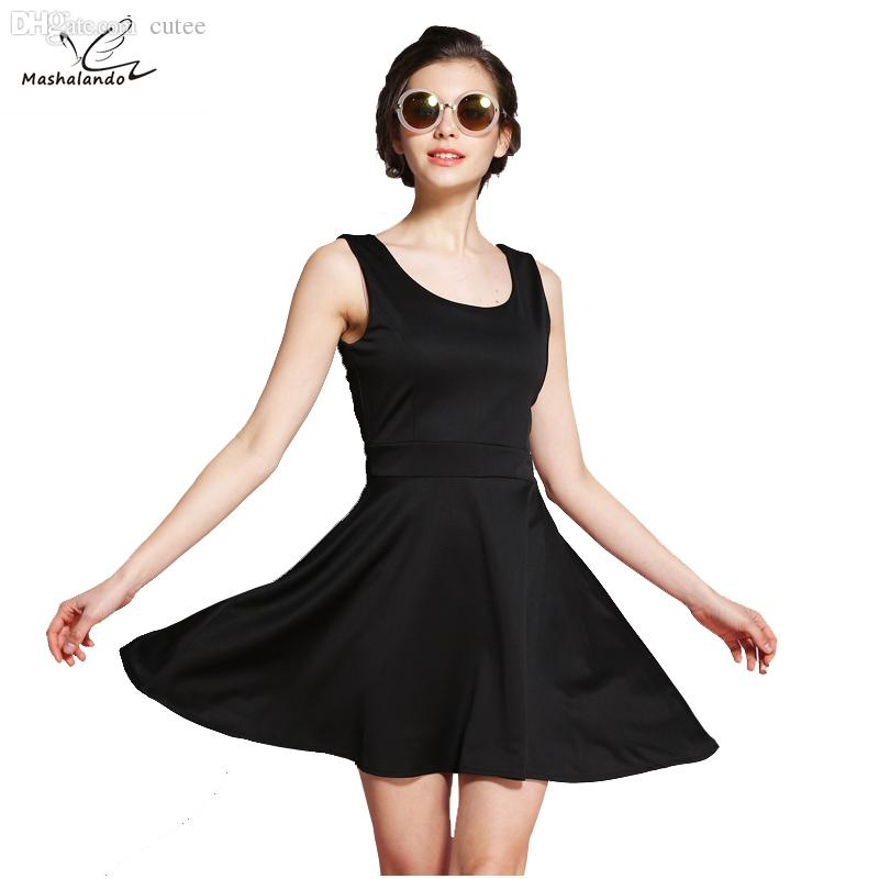 Wholesale Mashalando 60s Dress Little Black Dresses Summer 2016