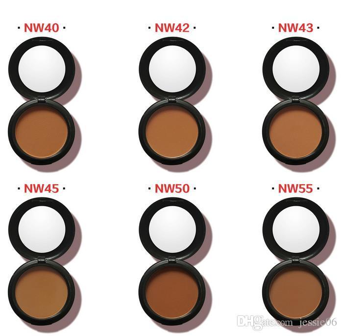 Brand new NC NW Face Powder Makeup Studio Fix Pó Facial Além disso Fundação sombra em pó acabamento natural, 15g NOVO NA transporte da gota BOX