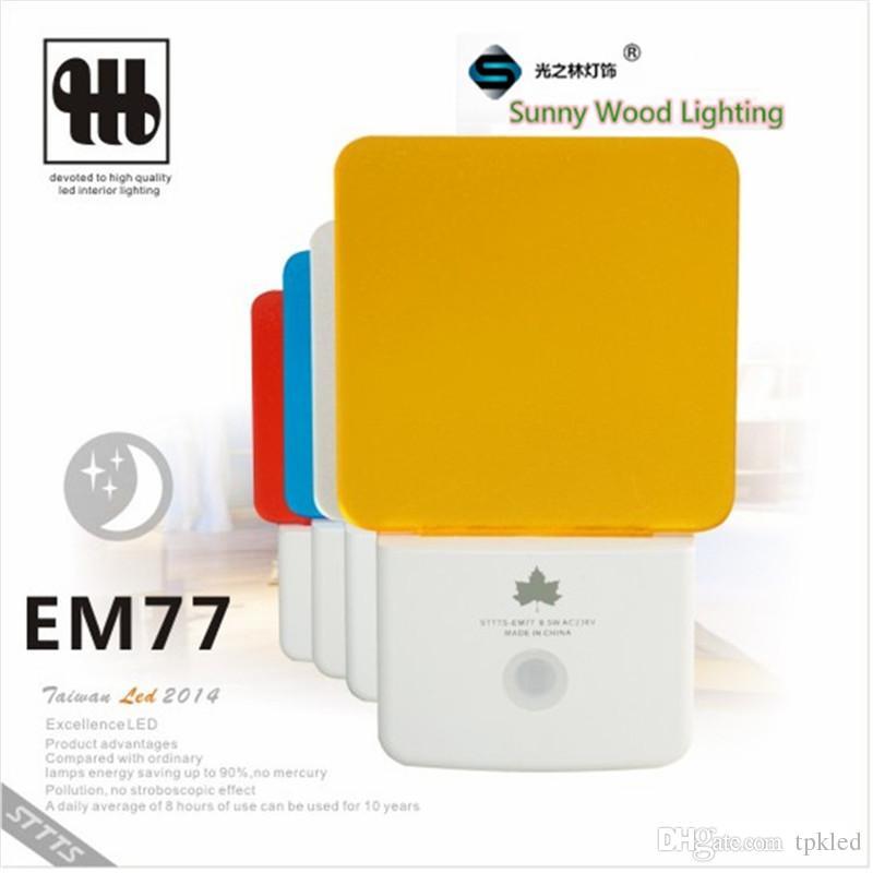2018 0 3w 200 240vac Led Light Sensor Socket Night Lamp Brightness Detect Automatical Wall Lamp From Tpkled $12 97 - led light sensor