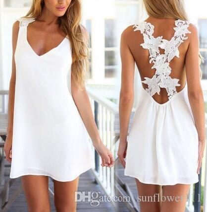 2019 Clothing Womens Celeb Sexy Mini Playsuit White Jumpsuit Summer Shorts  Beach Sun Dress From Sunflower111 10cb1729fe5