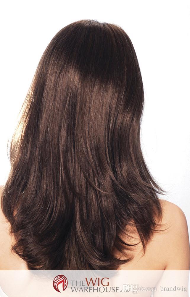 Luxus Mode Perücken Volle Spitze Echthaar Perücken Natürliche Farbe Haar Glattes Haar Voller Charme Mode Schöne Cosplay Yuri Auf Eis Kabell