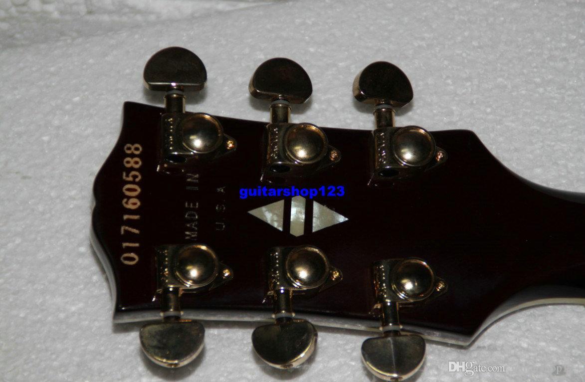 Özel Mağazalar Caz Gitar Sunburst L5 Elektro Gitar çin'den toptan gitarlar A123